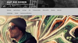 """""""Auf die Ohren – Music Blog"""" Review"""